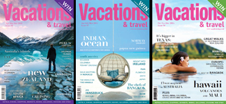 Subscribe to Vacations & Travel magazine