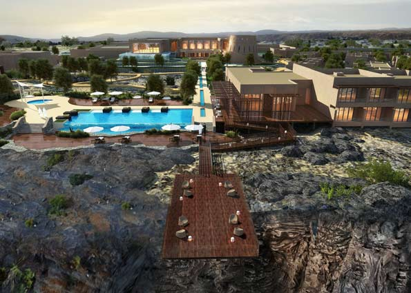 Anantara to open middle east 39 s highest hotel vacations for Hotel luxury oman