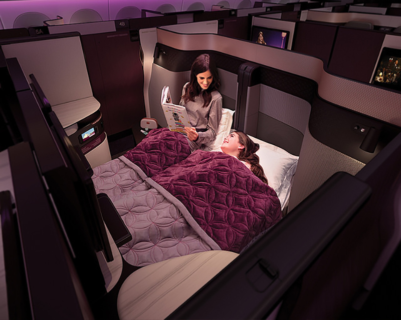 QSuite, Qatar Airways