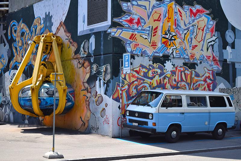 Zurich West, Switzerland, street art