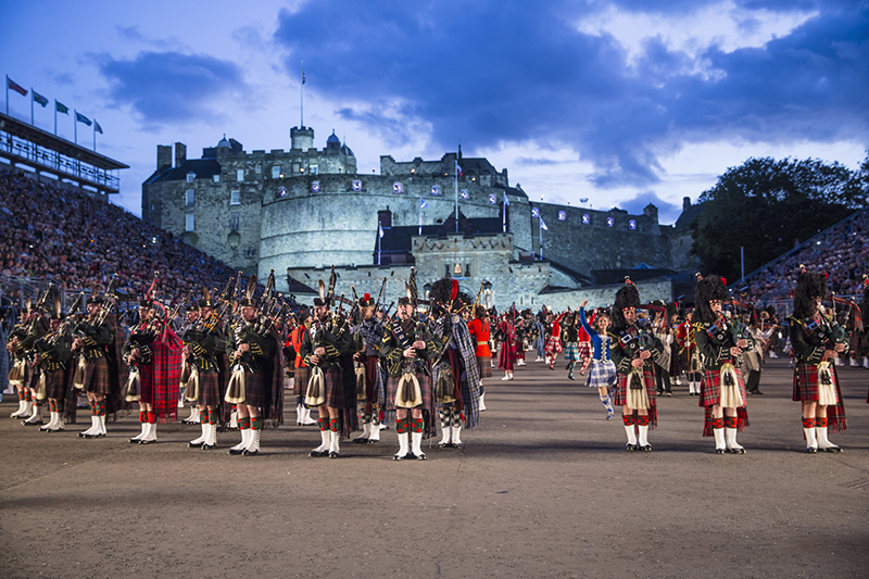 The royal edinburgh military tattoo vacations travel for Royal military tattoo