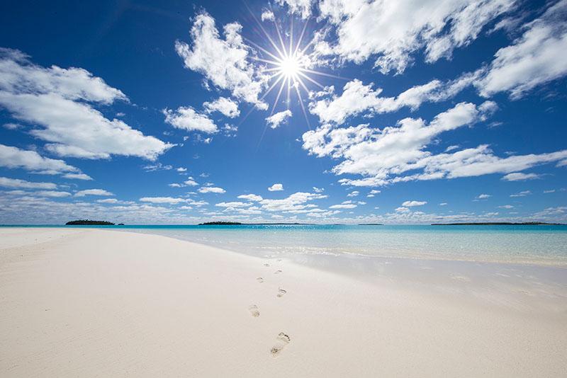 Beach, Cook Islands