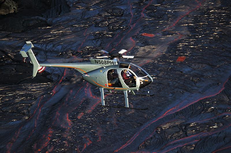 Paradise Helicopters, Hawaii, Kilauea, volcano