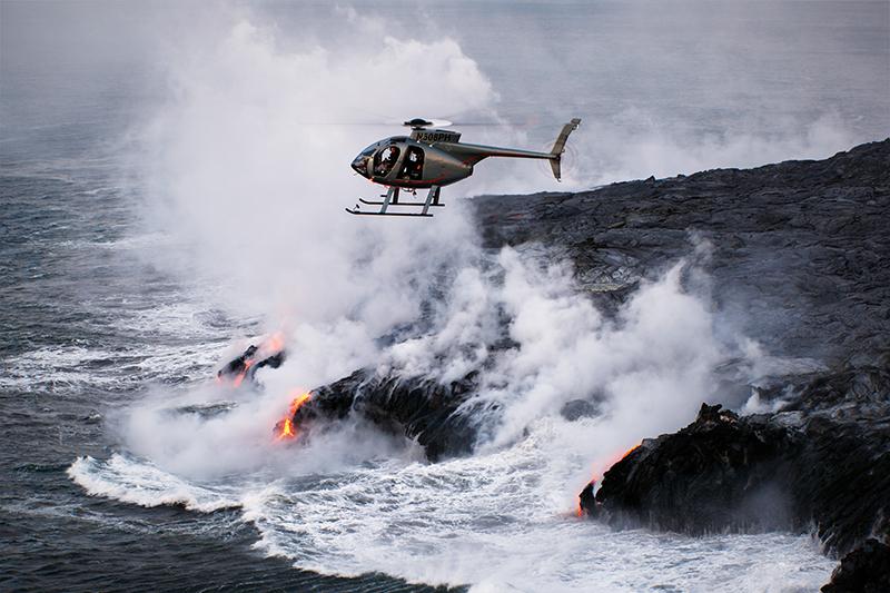 Hawaii, Paradise Helicopters, Kilauea, Big Island, volcano