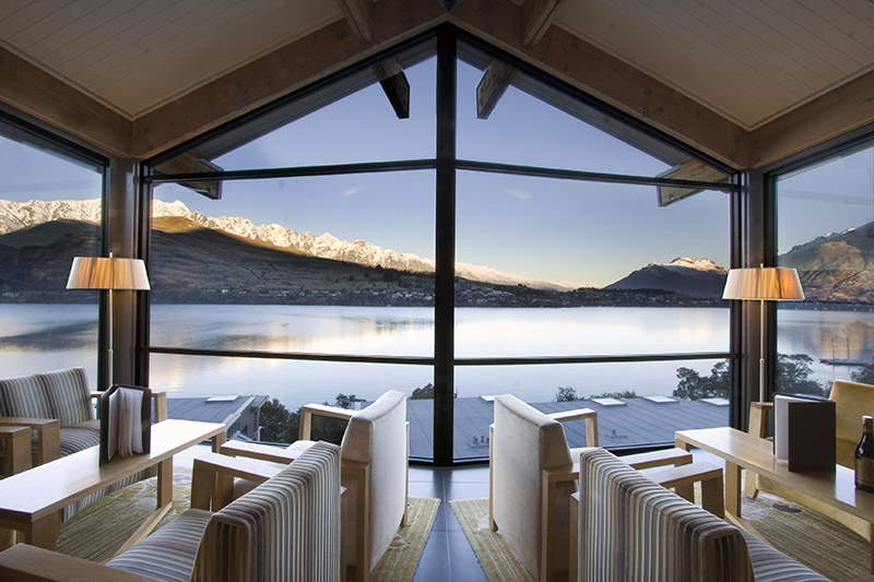 The Rees Hotel, Queenstown, New Zealand, Lake Wakatipu
