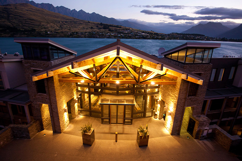 The Rees Hotel, Queenstown, New Zealand, luxury hotel, Queenstown