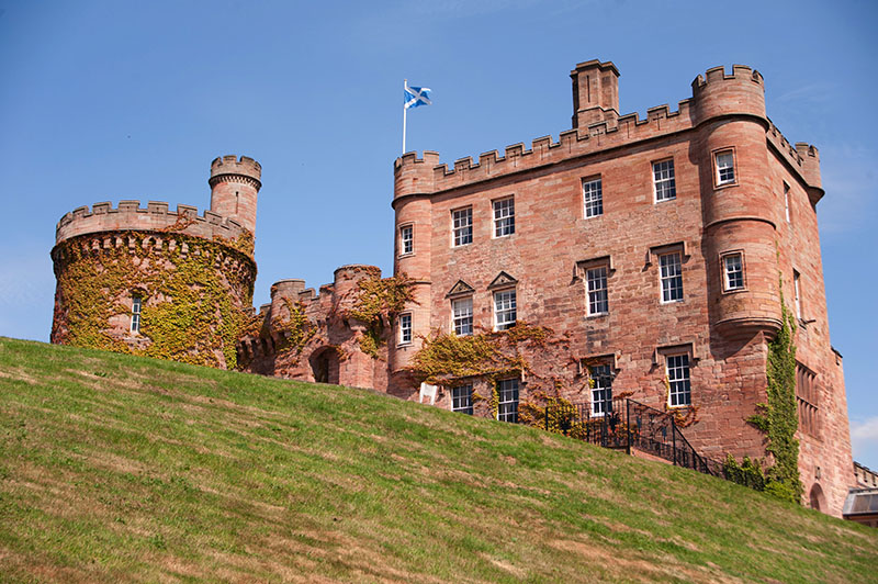 Dalhousie castle and spa scotland vacations travel for Stay in a haunted castle in scotland