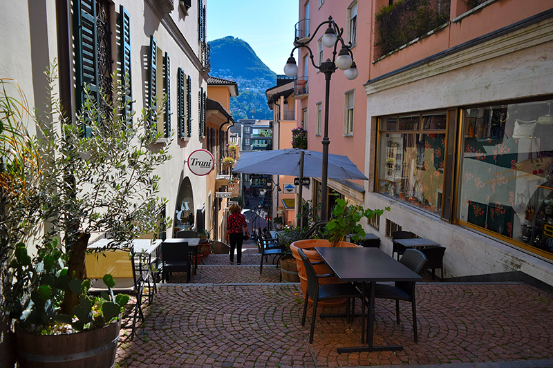 Lugano, Morcote, Switzerland