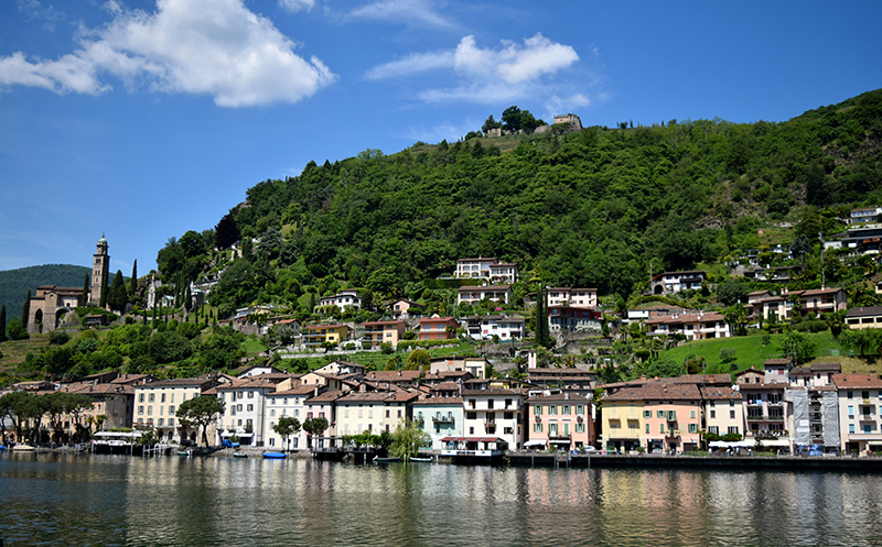 Lugano, Switzerland, Morcote