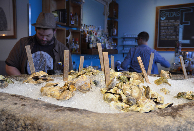 Eventide Oyster, Portland, Maine