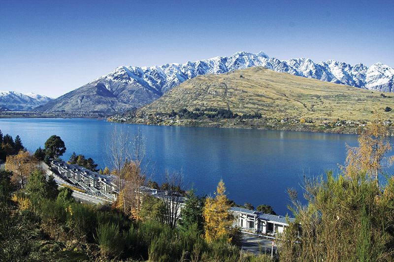 The Rees Hotel Queenstown, Five Star hotel, Lake Wakatipu, Queenstown, New Zealand