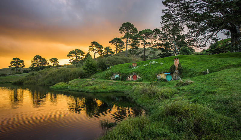 Green Dragon Inn, Hobbiton, New Zealand
