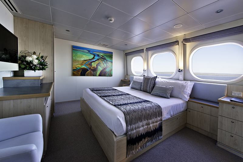 Explorer Class Cabin True North, True North, True North Adventure Cruises, The Kimberley