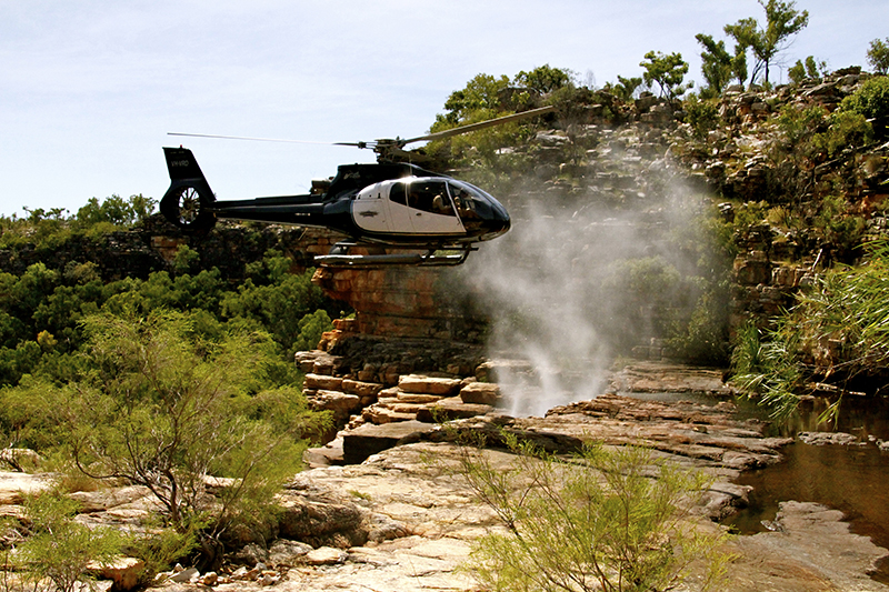 Helicopter, True North, True North Adventure Cruises, The Kimberley