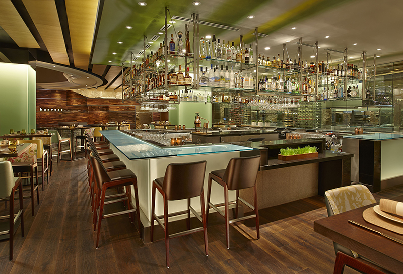 Bar at Harvest by Roy Ellamar, Bellagio, Las Vegas, Nevada