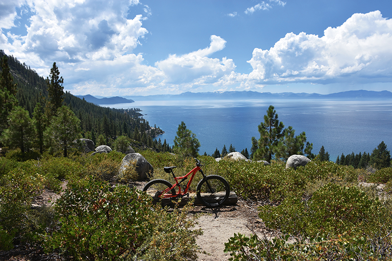 Biking, Lake Tahoe biking trails, North Lake Tahoe, Lake Tahoe, Nevada