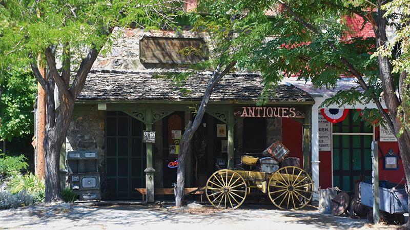 Antiques store Genoa, Genoa, Nevada