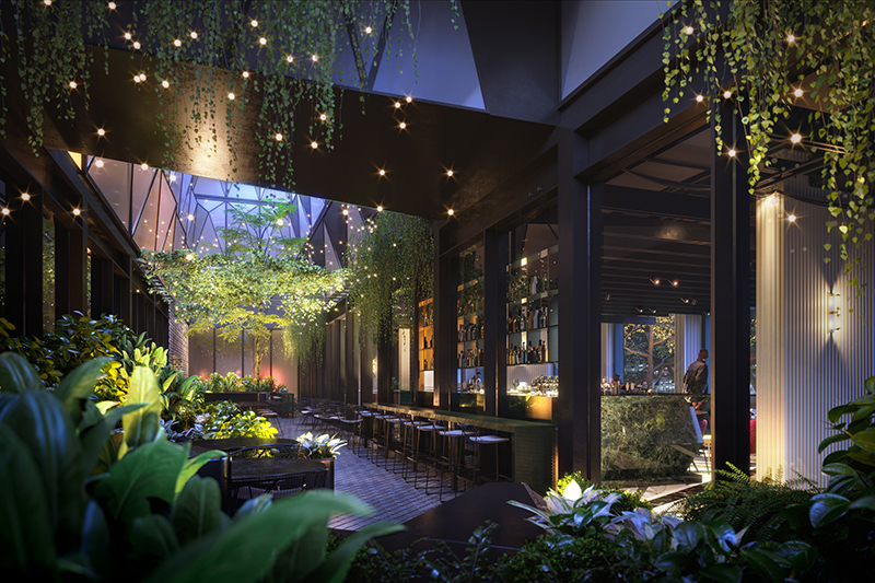 Curio Collection by Hilton, West Hotel Sydney, Atrium, Sydney hotels