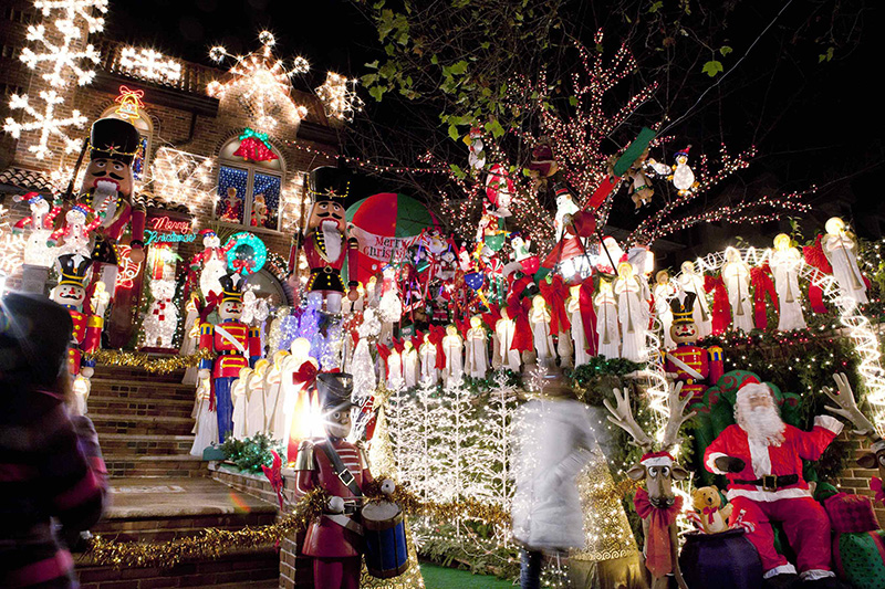 Brooklyn's Christmas Lights, Brookly, NYC, New York City