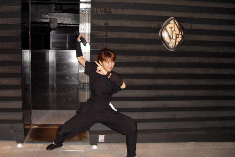 Ninja Akasaka, Tokyo bar, Tokyo ninja bar, Tokyo, Japan