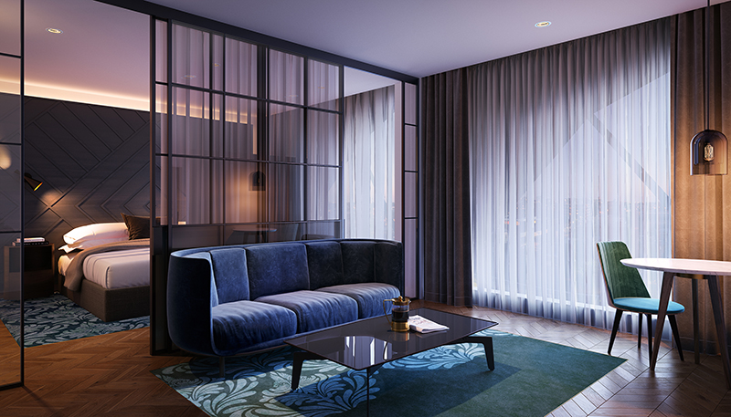 Curio Collection by Hilton, West Hotel Sydney, Suite