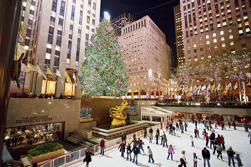 Rockefeller Center, Christmas Tree, New York City