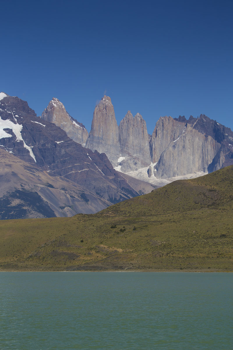 The Paine Massif, Torres del Paine National Park, Chile