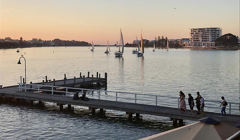Redmanna Waterfront Restaurant, Mandurah, Peel Region, Western Australia