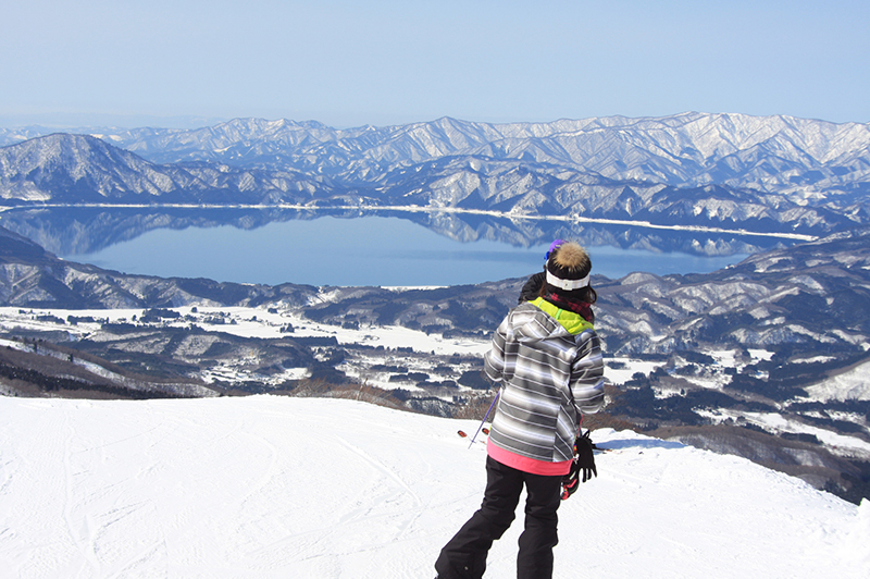 Akita, Tazawako Skiing Area