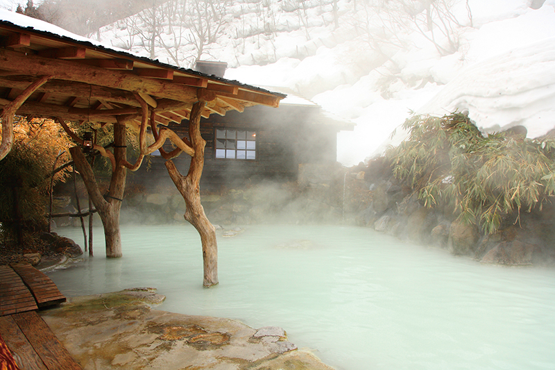 Nyuto-onsen-kyo Hot Springs Village