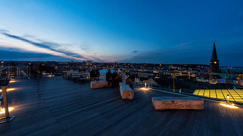 Salling Rooftop, Aarhus, Denmark