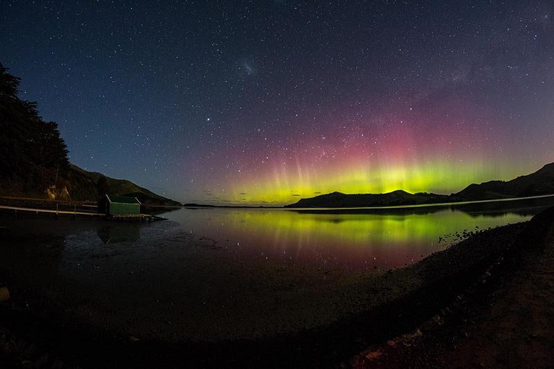 Southern Lights, Aurora Australis, New Zealand