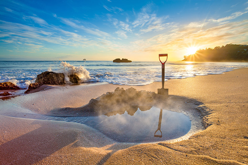 Hot Water Beach, Coromandel, New Zealand