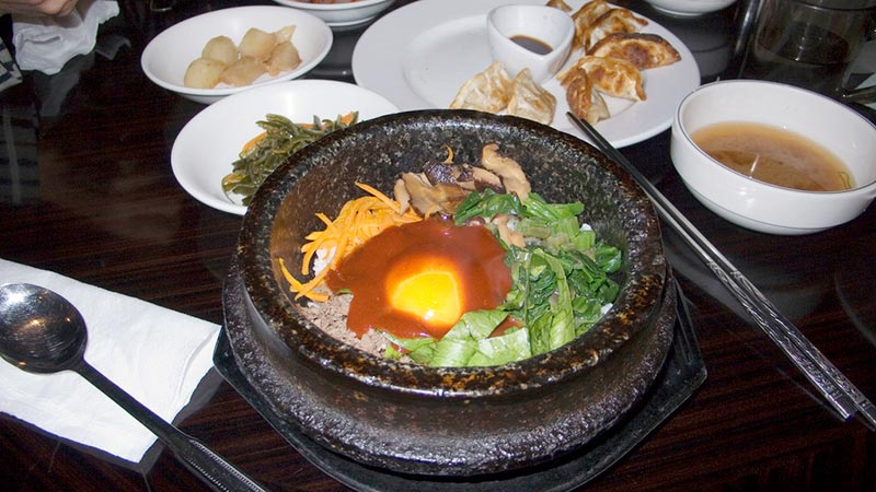 Korea, Seoul, food