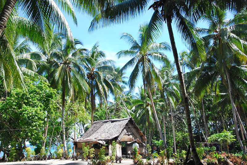 Babanga Village on Gizo in the Solomon Islands