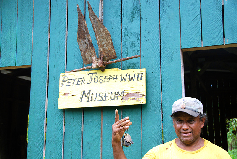 Peter Joseph Museum, New Georgia, Solomon Islands, Lee Mylne