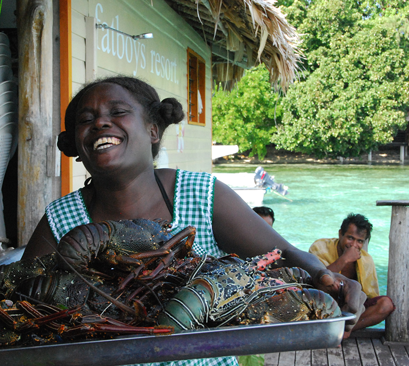 Fatboys-Solomon Islands-lobsters-Lee Mylne
