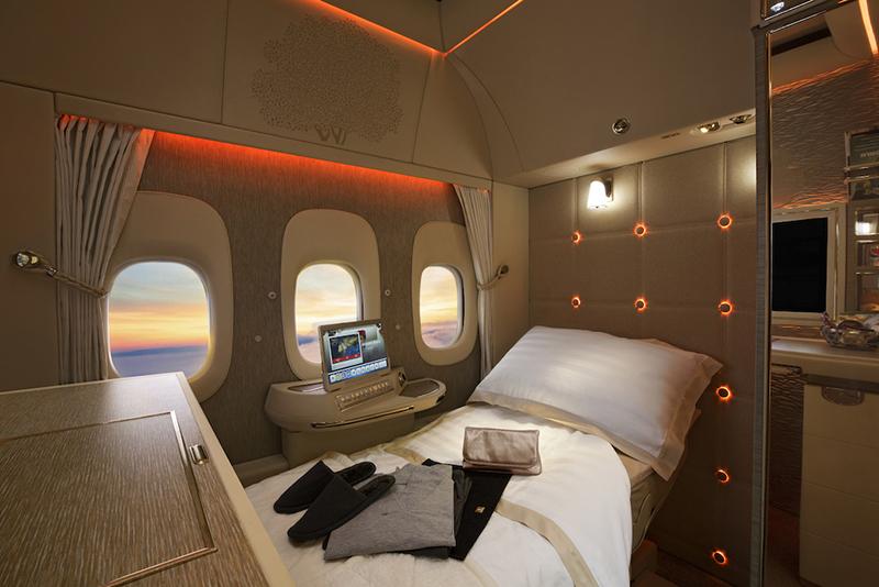 Emirates, First Class, Mercedes-Benz, Boeing 777, luxury, suites