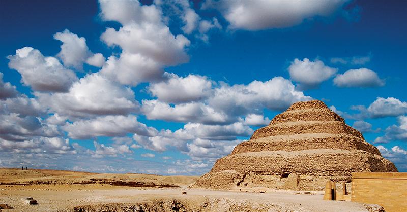 Egypt, Sakkara, Step Pyramid