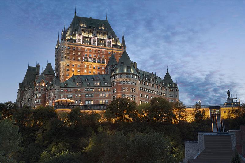 Fairmont Le Château Frontenac, Quebec, Canada
