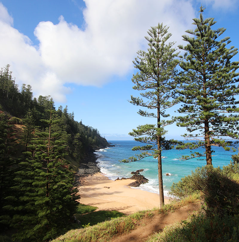 Anson Bay beach, Norfolk Island