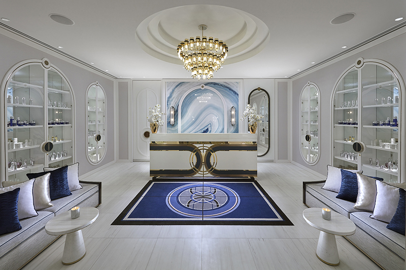 The spa at Crown Towers Perth