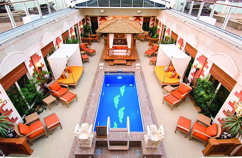 The Haven, Norwegian Jewel, Norwegian Cruise Line