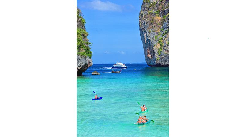Maya Beach, Koh Phi Phi, Thailand