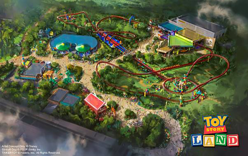 Toy Story Land, Walt Disney World Resort, Florida
