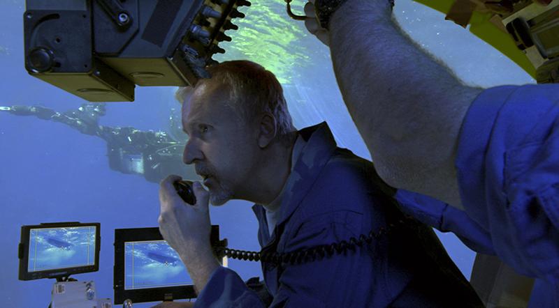 James Cameron, Australian National Maritime Museum, exhibition