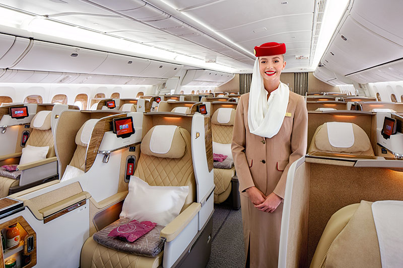Emirates unveils new Business Class on Boeing 777 ...