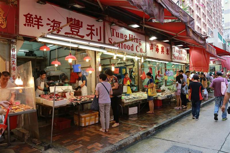 Hong Kong, Mongkok, wet markets