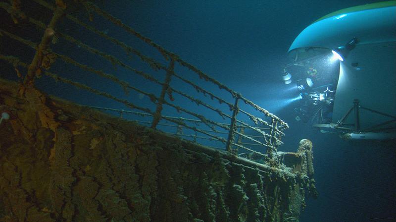 James Cameron, Titanic, Australian National Maritime Museum