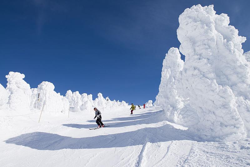 Zao ski, Yamagata, Japan